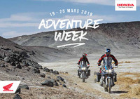 Honda Adventure Weeks 2018 LUX